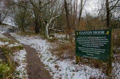 Stanton Moor royalty-vrije stock fotografie