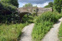 Stanton`s Bridge, Brimscombe. Stanton`s Bridge over the Thames & Severn Canal Stock Images