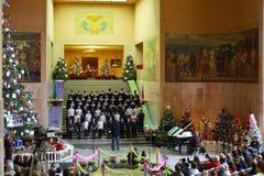 Stanu Capitol bożych narodzeń koncert, 2012 zdjęcie royalty free