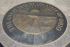 Stanu Capitol Ohio, Kolumb obraz stock