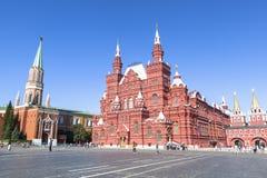 Stanu Dziejowy muzeum w Moskwa Zdjęcie Stock