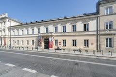 Stanu Og?lny Eksperymentalny Zintegrowany Muzyczny budynek szko?y w Warszawa zdjęcia royalty free
