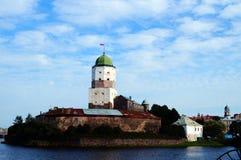 Stanu Vyborg Muzealny kasztel - główny muzeum Vyborg obraz royalty free
