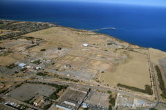 Stanvac del porto aereo Fotografia Stock Libera da Diritti