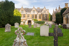 Stanway House and St Peters Church Stanton Stock Photography