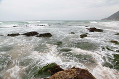 Stanwell公园海滩 库存图片