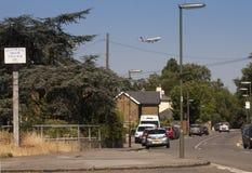 Stanwell amarra a vila Foto de Stock Royalty Free
