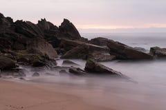 Stanwell parkerar stranden - Australien Arkivfoto