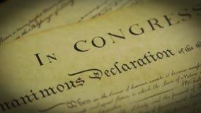 Stany Zjednoczone akt swobód obywatelskich preambuła konstytucja zdjęcie wideo