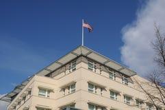 STANY ZJEDNOCZONE ambasada W BERLAIN NIEMCY obrazy royalty free