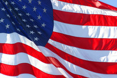 stany zjednoczone amerykańska flaga Fotografia Royalty Free