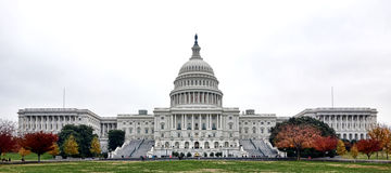 Stany Zjednoczone Capitol budynek w washington dc Zdjęcie Stock