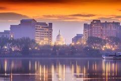Stany Zjednoczone Capitol budynek w washington dc obraz stock