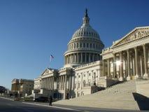 Stany Zjednoczone Capitol wschodu portyk Fotografia Royalty Free