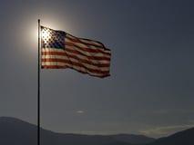 Stany Zjednoczone Flaga Zdjęcia Royalty Free