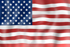 Stany Zjednoczone flaga Fotografia Stock