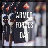 Stany Zjednoczone korpusy piechoty morskiej Szczęśliwy weterana dzień Fotografia Royalty Free