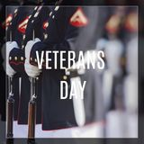 Stany Zjednoczone korpusy piechoty morskiej Szczęśliwy weterana dzień Fotografia Stock