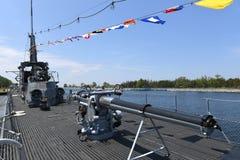 Stany Zjednoczone marynarka wojenna Podwodny USS Silvesides Zdjęcie Stock