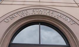 Stany Zjednoczone mennica w Denver obraz royalty free