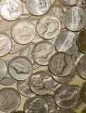 Stany Zjednoczone nikla monety zdjęcia stock