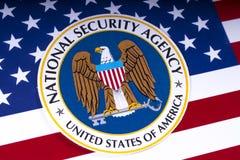 Stany Zjednoczone obywatela Securoty agencja obrazy royalty free