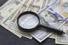 Stany Zjednoczone papierowy pieniądze zdjęcia royalty free