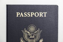 Stany Zjednoczone paszporta amerykanin Fotografia Royalty Free