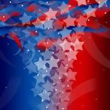 Stany Zjednoczone Patriotyczny tło Zdjęcie Royalty Free