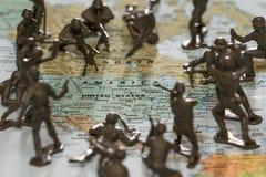 Stany Zjednoczone pod atakiem Zdjęcie Royalty Free