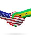 Stany Zjednoczone, Sao wolumin Principe zaznacza pojęcie współpracę, biznes, rywalizacja ilustracji