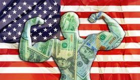 Stany Zjednoczone Silny dolar zdjęcie stock