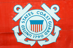 Stany Zjednoczone straży przybrzeżnej insygnia Fotografia Stock