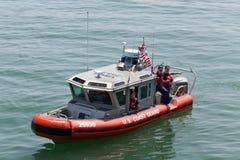 Stany Zjednoczone straży przybrzeżnej naczynie Zdjęcie Royalty Free