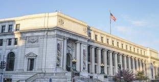 Stany Zjednoczone urząd pocztowy Dorothy wzrosta gałąź w Waszyngton, KWIECIEŃ 7, KOLUMBIA -, 2017 - washington dc - zdjęcia stock