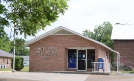 Stany Zjednoczone urząd pocztowy, Gallaway, TN Obraz Royalty Free