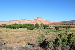 Stany Zjednoczone, Utah - fotografia stock