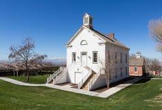 Stany Zjednoczone zachodu pionier Chuch zdjęcie royalty free