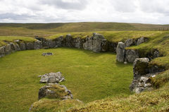 Stanydale Temple, Shetland Stock Photography