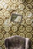 Stanza abbandonata Fotografia Stock