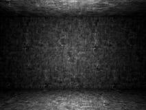 Stanza abbandonata vecchio calcestruzzo sporca Immagine Stock Libera da Diritti