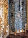 Stanza al palazzo di Tsarskoye Selo Pushkin Immagine Stock