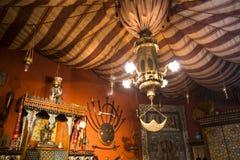 Stanza araba nel ` Albertis di Castello d una residenza storica in Genoa Italy Attualmente alloggia il museo delle culture del mo Fotografia Stock