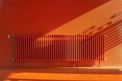 Stanza arancio Immagini Stock