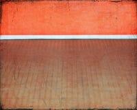 Stanza arancio strutturata Fotografia Stock