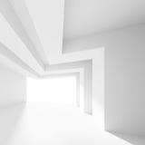 Stanza bianca con la finestra Fotografie Stock Libere da Diritti