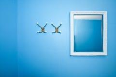 Stanza blu Immagini Stock Libere da Diritti