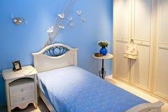 Stanza blu Fotografia Stock Libera da Diritti