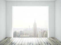 Stanza con la finestra Fotografia Stock Libera da Diritti