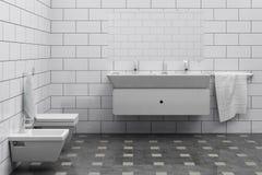 Stanza da bagno illustrazione vettoriale
